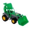 Игрушки для мальчиков Полесье Мастер трактор-экскаватор, зеленый, купить за 160руб.