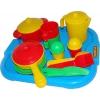 Игрушки для девочек Полесье Набор детской посуды Настенька с подносом на 2 персоны, купить за 297руб.