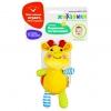 Игрушка для малыша подвеска-погремушка Жирафики Жирафик 939520 (с вибрацией), жёлтый, купить за 145руб.
