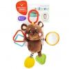Игрушка для малыша подвеска Жирафики Мишка 939537 (с прорезывателем и зеркальцем), купить за 130руб.