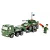 Конструктор Город мастеров Камаз Перевозчик (KK-7042-R) с танком и фигуркой, купить за 685руб.