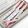 Набор ножей Mayer & Boch 23315, 3 предмета и овощерез, МВ (х10), купить за 680руб.