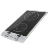Плитка электрическая Galaxy GL 3057, серебристая, купить за 4 505руб.