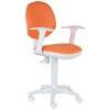 Компьютерное кресло Бюрократ CH-W356AXSN/15-75 orange / white, купить за 4 390руб.