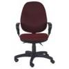 Компьютерное кресло Бюрократ T-612AXSN/Ch burgundy JP-15-6, купить за 8 800руб.