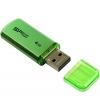 Usb-флешка Silicon Power Helios 101 4Gb, зеленая, купить за 495руб.