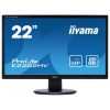 Монитор Iiyama E2282HV-B1, чёрный, купить за 5 850руб.