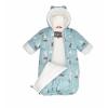 Конверт для новорожденного Kisu W18-00101 (раз.62) голубой, купить за 2 670руб.