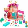 Игрушки для девочек Игровой набор Mattel Enchantimals Домик Данессы Оленни FRH50, купить за 3 580руб.