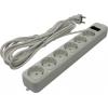 Сетевой фильтр 3Cott 3C-SP1006W-5.0 (6  розеток) белый, купить за 655руб.