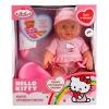 Карапуз Hello Kitty, 4 функции (W21309A-Hello Kitty) 30см, купить за 980руб.