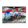 Игрушки для мальчиков Технопарк Автомойка с функцией воды, 2 машины меняют цвет (P6788A) в коробке, купить за 1360руб.