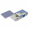 Игральные карты Texas Holdem, 100% пластик (54 шт.), синяя рубашка, купить за 200руб.
