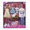 Куклу Simba Штеффи Кевин Еви Тимми, Королевская семья (29, 12см), купить за 2415руб.