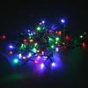 Новогоднее украшение Гирлянда электрическая Торг-Хаус LED 20 разноцветных диодов, 2,5 м, купить за 140руб.