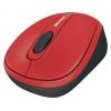Microsoft Wireless Mobile Mouse 3500 USB, красная, купить за 1 615руб.