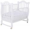 Детская кроватка Papaloni Favola 120х60, белая, купить за 13 270руб.
