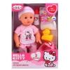 Куклу Карапуз, Пупс пьет и писает (3 функции) 14106A- Hello Kitty, с аксессуарами, купить за 785руб.