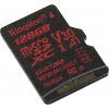 Карту памяти Kingston SDCR/128GBSP 128 Гб A1 V30, купить за 2620руб.
