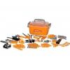 Игрушки для мальчиков Набор инструментов Полесье №10, 166 элементов (в контейнере), купить за 1160руб.