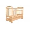 Детская кроватка Агат Золушка-6 светлая, купить за 3 965руб.