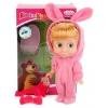 Куклу интерактивная Карапуз Маша и Медведь Маша, в костюме зайца, 15 см, 83030EAS (30), купить за 540руб.