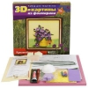 Товар для детского творчества Волшебная мастерская, набор Полевые цветы (FM-03) 3D картина, купить за 375руб.