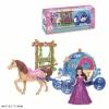 Игрушки для девочек Наша Игрушка Карета Каникулы принцессы (SS027A) Светозвуковые эффекты, купить за 330руб.