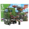 Конструктор Город мастеров Камаз Ракетная установка с фигуркой (KK-7041-R), купить за 635руб.