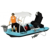 Игрушки для мальчиков Dickie рыбацкая лодка PlayLife с фигуркой и аксессуарами, (3833004), купить за 1265руб.