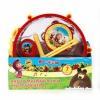 Музыкальную игрушку Набор инструментов Играем вместе Маша и Медведь B226345-R2, купить за 525руб.