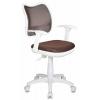 Кресло офисное Бюрократ CH-W797/BR/TW-14C, коричневое, купить за 4 690руб.