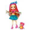 Кукла Mattel Enchantimals с любимой зверюшкой – Пикки Какаду (FNH22), 15 cм, купить за 635руб.