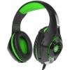 Гарнитура для пк Crown CMGH-102T, черно-зеленая, купить за 1 305руб.