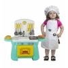 Игрушки для девочек Набор Совтехстром Моя кухня (У548/1)  с костюмом повара, купить за 1 505руб.