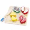 Игрушки для девочек Набор продуктов с посудой Mapacha Фрукты 76682, купить за 345руб.