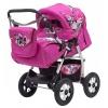 Коляска Teddy Bart-Plast Etude PKL 04, розовая, купить за 11 830руб.