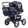 Коляска Teddy Bart-Plast Etude PKL 02, синяя, купить за 11 830руб.