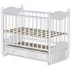 Детская кроватка Ведрусс Эля, белая, купить за 8 100руб.