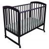 Детская кроватка Малика Sona-1 (колесо-качалка), венге, купить за 6 430руб.
