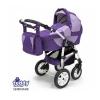 Коляска Teddy Serenade PCO-F 06 (3 в 1), фиолетовая, купить за 19 950руб.