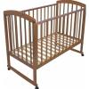 Детская кроватка Малика Sona-1, орех светлый, купить за 6 430руб.