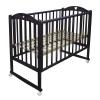Детская кроватка Малика Laura-1 (колесо, качалка), венге, купить за 6 430руб.