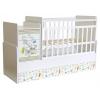 Детская кроватка Фея 1100 Панды, белая, купить за 8 510руб.