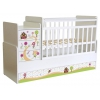 Детская кроватка Фея 1100 Пряничный домик, белая, купить за 7 720руб.