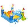 Бассейн надувной Игровой центр Intex Fantasy Castle Play Centre 57138 с горкой, купить за 2 740руб.