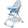 Стульчик для кормления Polini kids 252 Единорог Радуга, голубой, купить за 2 695руб.