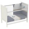 Детская кроватка Polini kids Simple 220, белая, купить за 5 465руб.