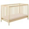 Детская кроватка Polini kids Simple 101, натуральный, купить за 4 275руб.