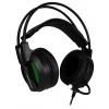 Гарнитура для пк Jet.A GHP-500 PRO, чёрная с зелёной подсветкой, купить за 1 805руб.